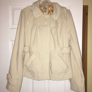 Tulle warm thick coat size large